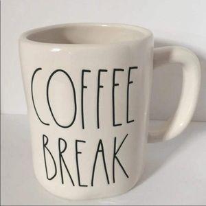 Coffee Break Mug by Rae Dunn